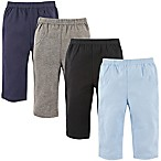 Luvable Friends® Size 3-6M 4-Pack Solid Pants