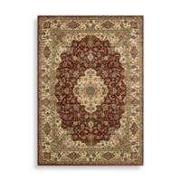 Nourison Persian Arts Kirman 7-Foot 9-Inch x 10-Foot 10-Inch Rug in Brick Red