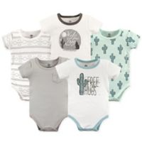 Yoga Sprout Size 18-24M 5-Pack Free Hugs Bodysuits in Green