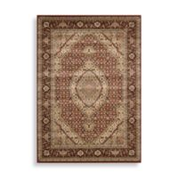 Nourison Persian Arts Mahi 7-Foot 9-Inch x 10-Foot 10-Inch Rectangle Rug in Brick