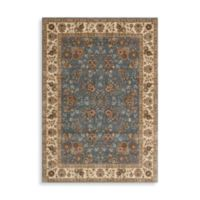Nourison Persian Arts 5-Foot 3-Inch x 7-Foot 5-Inch Rug in Tabriz Light Blue