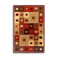 Surya Gloucester Amherst Burgundy Wool 5-Foot x 8-Foot Rug in Burgundy