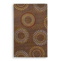 Surya Bayonne Dazzle 8-Foot x 11-Foot Rug in Chocolate