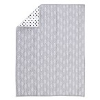 NoJo® Aztec Mix & Match Reversible Arrow Print Quilt in Grey