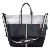 Rachel Zoe x Quinny Luxe Sport Diaper Bag in Black/Grey