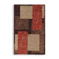 Surya Trenton Cosmopolitan Patchwork 8-Foot x 11-Foot Rug in Chocolate