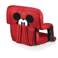 Picnic Time® Canvas Adjustable Chair in Red