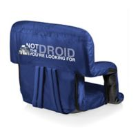 Picnic Time® Canvas Adjustable Chair in Navy