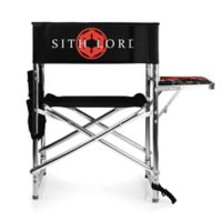 Picnic Time® Canvas Chair in Black
