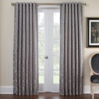 Marquis® by Waterford Samantha 84-Inch Rod Pocket Window Curtain Panel in Platinum