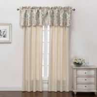 Marquis® by Waterford Warren 84-Inch Rod Pocket Window Curtain Panel Pair in Cream