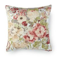 Rose Tree Lorraine Floral Square Throw Pillow