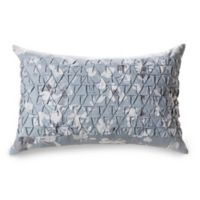 Laundry By SHELLI SEGAL® Crestmont Floral Oblong Throw Pillow in Blue
