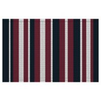 Weather Guard™ 24-Inch x 36-Inch Midnight Stripe Multicolor Door Mat
