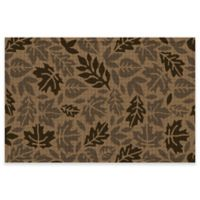 Weather Guard™ 24-Inch x 36-Inch Forest Leaves Door Mat in Camel