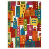 Nourison Miles Multicolor 4' x 6' Area Rug