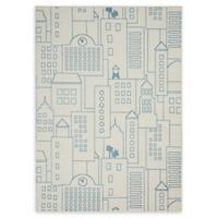 Nourison Miles 4' x 6' Area Rug in Ivory