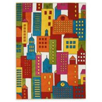 Nourison Miles Multicolor 5'2 x 7 Area Rug