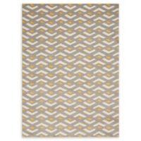 Nourison Harper 5'3 x 7'3 Area Rug in Grey