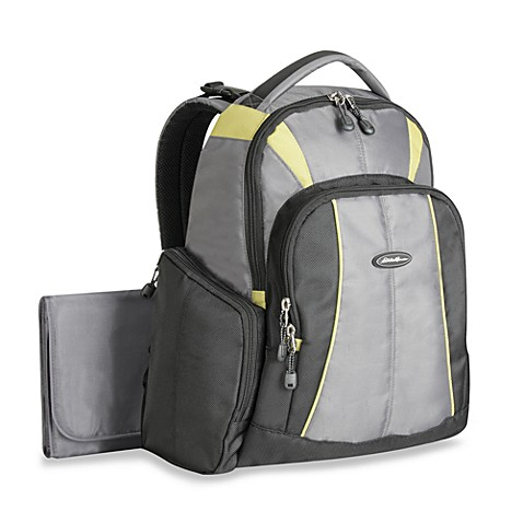 buy eddie bauer broadmoor back pack diaper bag from bed bath beyond. Black Bedroom Furniture Sets. Home Design Ideas
