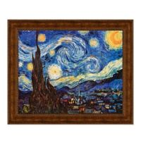 """Starry Night"" 17.25-Inch x 15.25-Inch Framed Canvas Replica Wall Art"