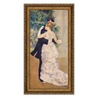 """La Danse a la Ville"" 16-Inch x 27-Inch Framed Canvas Replica Wall Art"