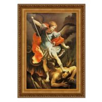 """Archangel St. Michael"" 18.75-Inch x 24.25-Inch Framed Canvas Replica Wall Art"