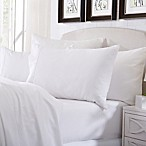 Great Bay Home Deep Pocket Solid Queen Sheet Set in Optical White