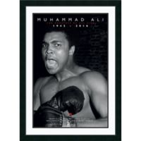 Amanti Art Ali The Greatest of All Time 31-Inch x 43-Inch Framed Wall Art