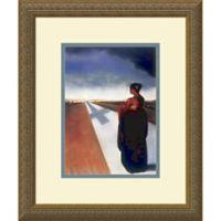 Amanti Art The Road 15.13-Inch x 18.13-Inch Framed Wall Art