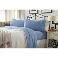 Great Bay Home Carmen Jersey Queen Sheet Set in Sky Blue