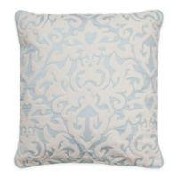 Beautyrest® Arlee Velvet Applique Square Throw Pillow in Spa