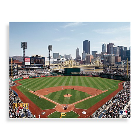 Buy Mlb Pittsburgh Pirates Stadium Canvas Wall Art From
