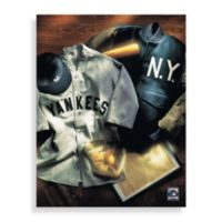 MLB New York Yankees Vintage Collage Canvas Wall Art