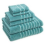 American Dawn Inc. Burke 6-Piece Towel Set in Blue