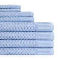 American Dawn Inc. Milo Hotel Luxe 8-Piece Towel Set in Blue