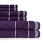 American Dawn Inc. Highgate 6-Piece Towel Set in Blackberry
