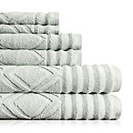American Dawn Inc. Prescott 6-Piece Towel Set in Silver Sage