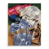 MLB Seattle Mariners Vintage Collage Canvas Wall Art