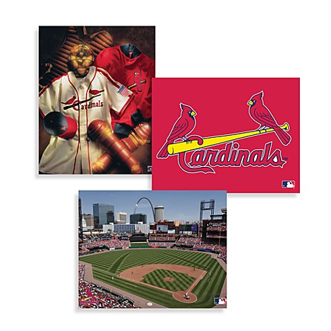 Mlb St Louis Cardinals Canvas Wall Art Bed Bath Amp Beyond