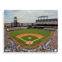 MLB Colorado Rockies Stadium Canvas Wall Art