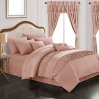 Chic Home Kea 20-Piece King Comforter Set in Coral