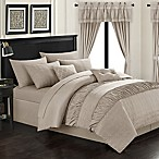 Chic Home Kea 20-Piece King Comforter Set in Taupe