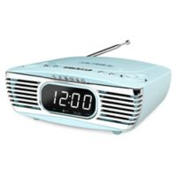 Victrola™ Bluetooth® Bedside Stereo with CD Player in Turquoise