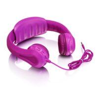 Aluratek Children's Volume Limiting Wired Foam Headphones in Pink