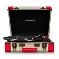 Crosley Executive Deluxe USB Portable Turntable in Red