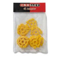 Crosley 12-Pack 45 RPM Turntable Adapters