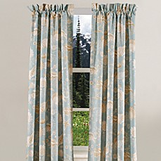 Natural Shells Window Curtain Panel