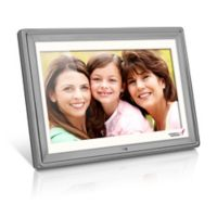 Susan G. Komen Edition 10-Inch Digital Photo Frame in Silver