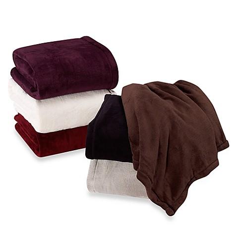 Berkshire Blanket 174 Indulgence Blanket Bed Bath Amp Beyond